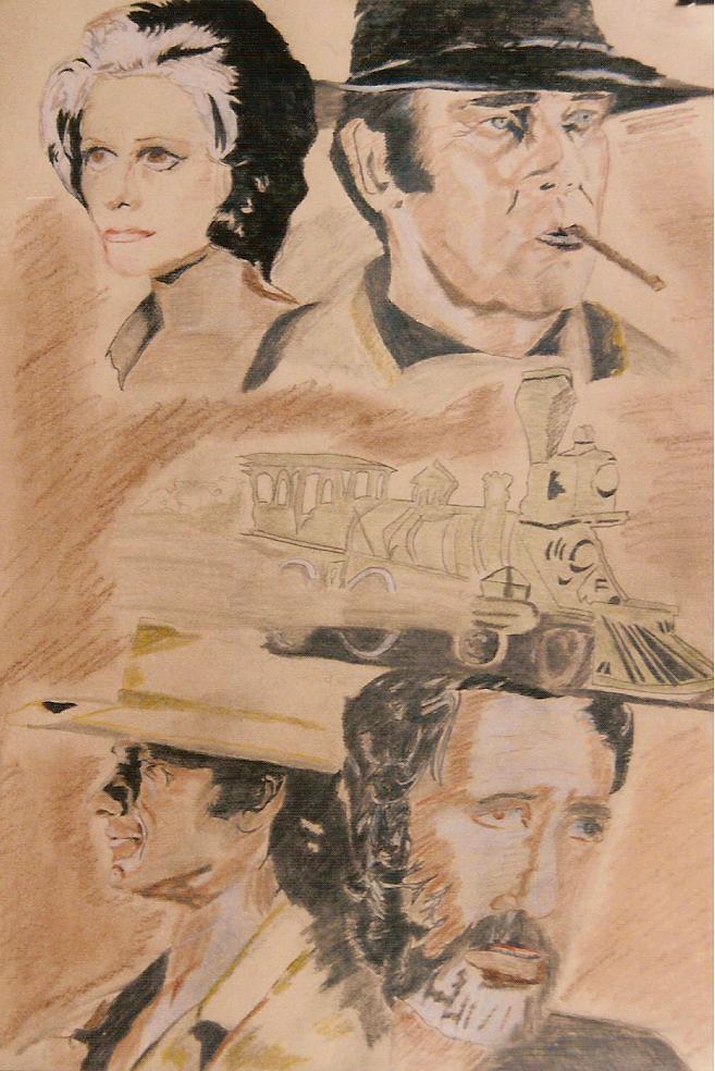 Henry Fonda, Claudia Cardinale, Jason Robards by Jean-61
